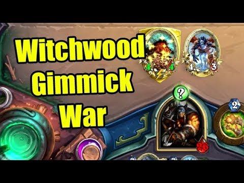 Hearthstone Witchwood Gimmick War: Rob/Rurikar vs Crendor