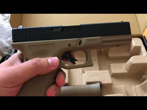 Анпакинг посылки из Airsoft-Rus/ Unboxing WE Glock 17 GGB from Airsoft-Rus
