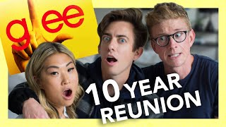 """quizzing """"Glee"""" cast on messy plot lines #10YearsofGlee (ft. Kevin McHale & Jenna Ushkowitz)"""
