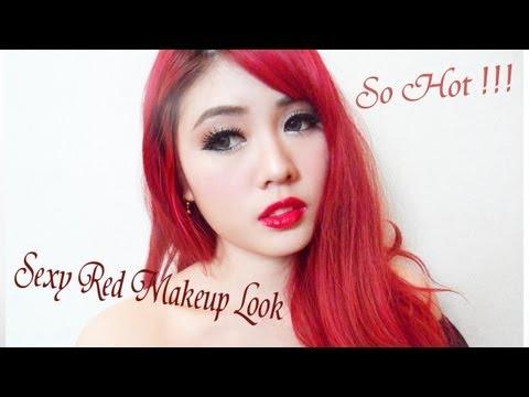 How to : Sexy Red Makeup Look ร้อนแรงด้วยโทนสีแดง