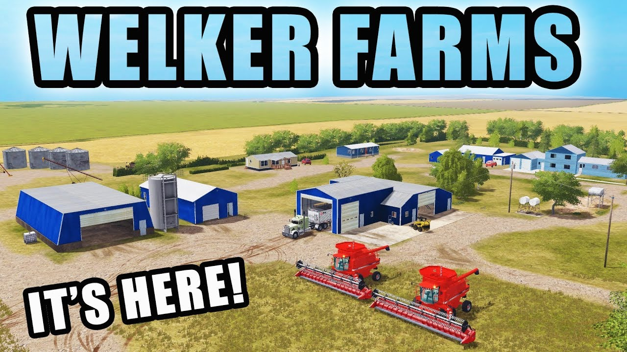WELCOME TO WELKER FARMS! NEW MONTANA MAP | EP #1 | FARMING SIMULATOR 2017 #1