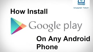 Gambar cover How To Install Play Store On Chinese Android Phone
