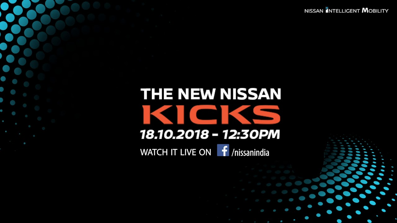 Nissan Kicks SUV Officially Unveiled in India