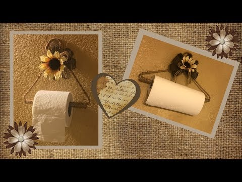 DIY Farmhouse Paper Towel