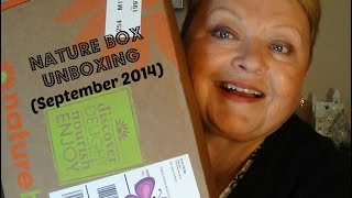 UNBOXING: Nature Box (September 2014) Thumbnail