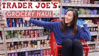Grocery Shop With Me: Healthy Trader Joe's Grocery Haul on a Budget