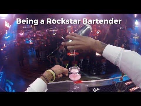 Being a Rockstar Bartender
