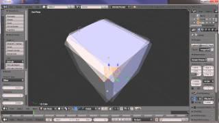 Belajar Blender 5 - Memberikan Lekukan atau Lengkungan Pada Sudut Objek