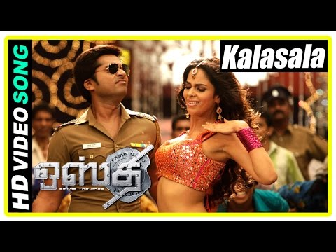 Osthi Tamil Movie Scenes | Kalasala song | Nasser hospitalised | Jithan Ramesh works for Sonu Sood
