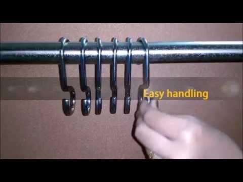 SignatureThings.com | Brass Hardware | curtain rings | brass curtain rings | brass drapery