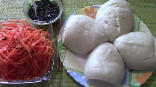 Как Приготовить Пигоди  Корейские Пирожки на Пару! Пошаговый рецепт!