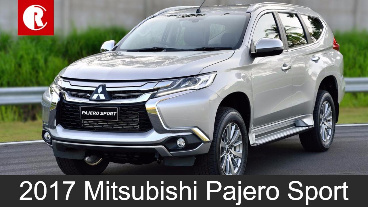 Mitsubishi All New Pajero Sport 2017 >> New Mitsubishi Pajero Sport India-bound in mid-2017 - YouTube