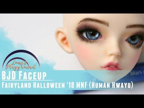 BJD Faceup: MNF Hwayu human ver. / Halloween 2018 Minifee