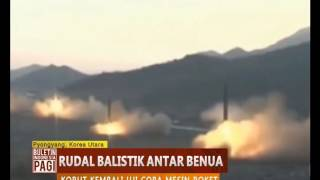 Korea Utara Kembali Mencoba Rudal Balistik Antar Benua yang Diklaim Untuk Luar Angkasa - BIP 29/03