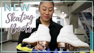 8 TIPS ON HOW TO BREAK IN NEW FIGURE SKATES | Coach Michelle Hong