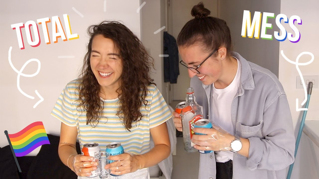 Gays Play EVERY Drinking Game (the ~messiest~ video I've ever filmed)