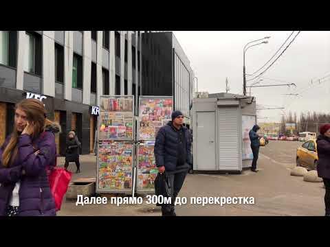 Путь в Камневеды от метро Дубровка