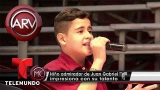 El niño colombiano que es idéntico a Juan Gabriel | Al Rojo Vivo | Telemundo