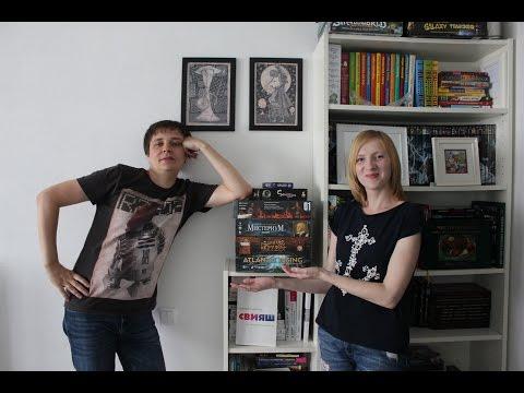 Кооперативные настольные игры - выбор Оли и Димы