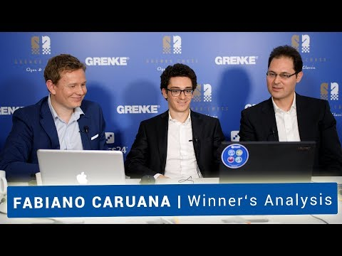 Fabiano Caruana | Chess Analysis with  Leko and Gustafsson after Winning the GRENKE Chess Classic