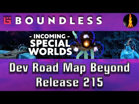 Special Worlds Incoming! | Dev Road Map | Boundless