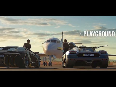Forza Horizon 3 - Intro & Gameplay