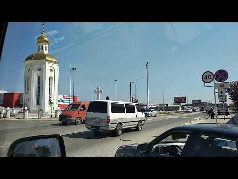 СЛАВЯНСК - НА -КУБАНИ. Обзор улиц. Переезд в Краснодарский край.
