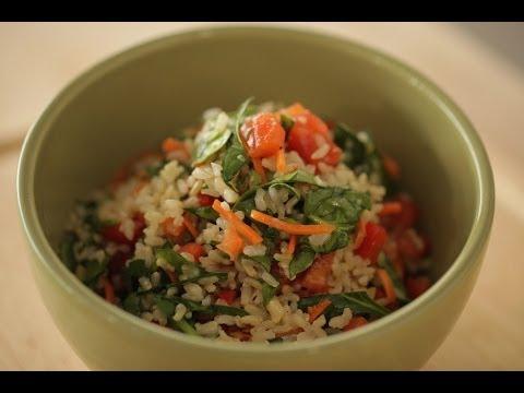 Tangy Brown Rice Salad Recipe | Kin Community