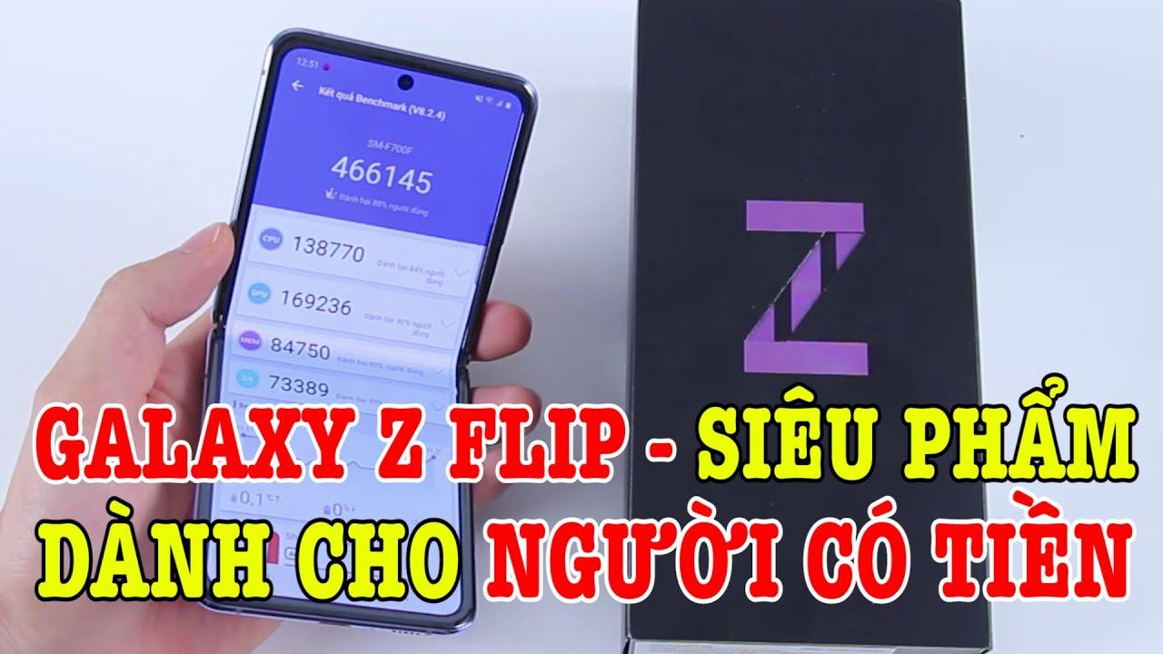 Mở hộp Samsung Galaxy Z Flip : SIÊU PHẨM dành cho người có TIỀN