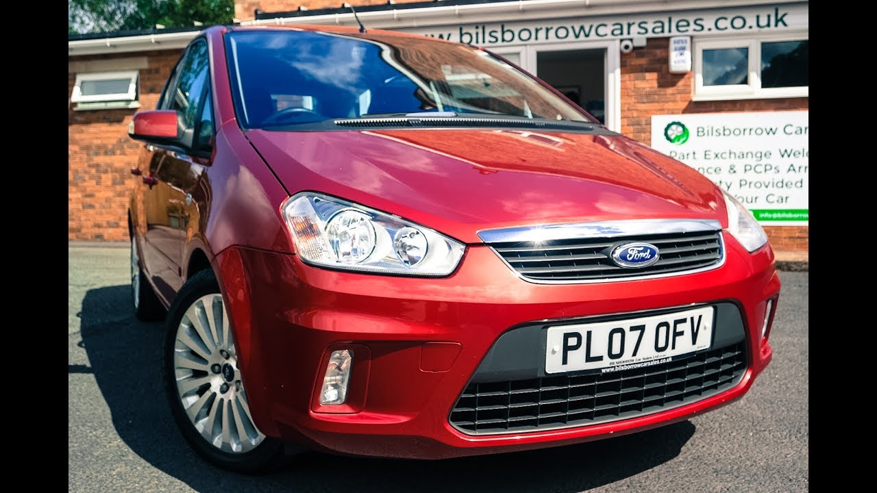 now sold!! ford c-max 2.0i titanium auto, 2007/07, only 29k miles