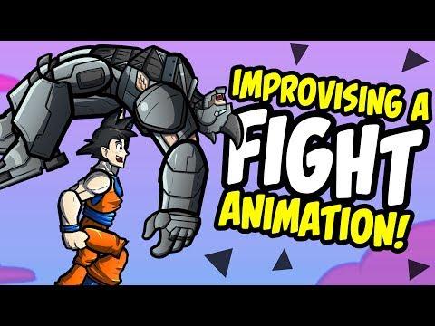 i-animated-a-100%-improvised-fight-scene-(ft.-goku,-shazam-and-more!)