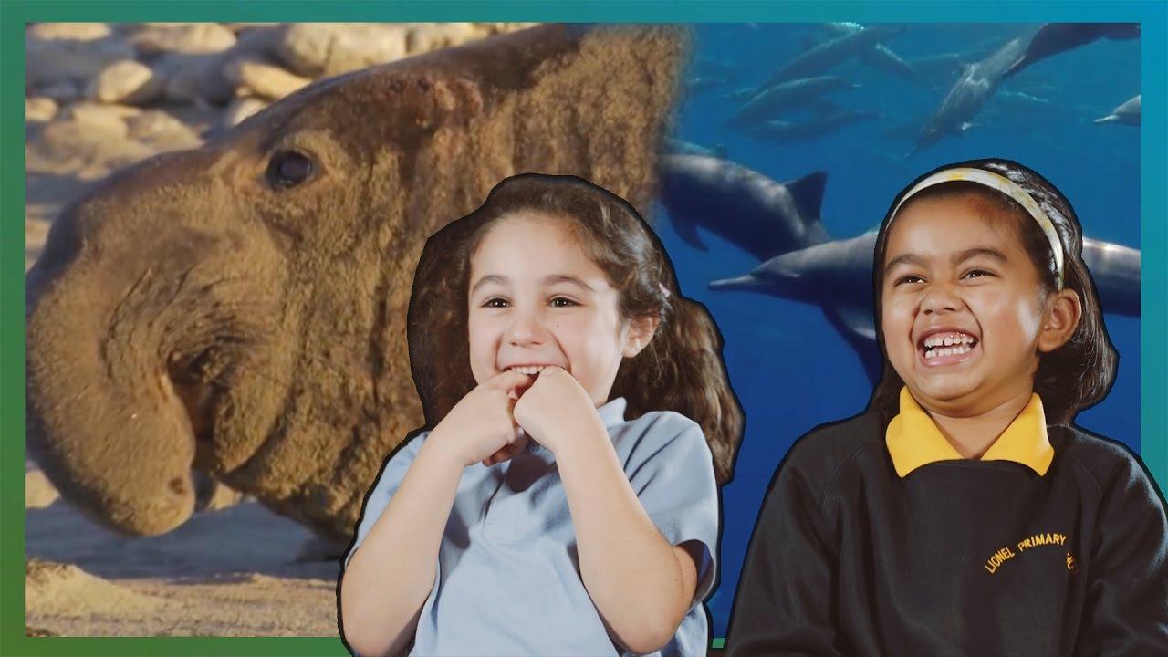 Children React To Strange Animals | Earth Unplugged