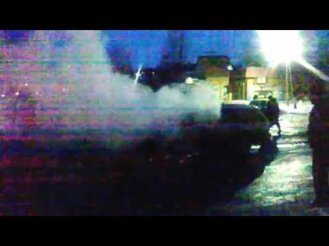Тушение машины в Суворова