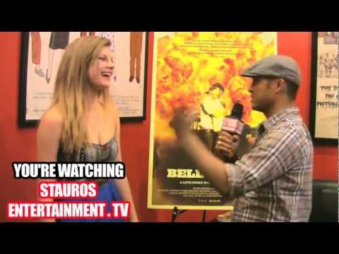 REBEKAH BRANDES w TYRONE TANN  BELLFOWER MOVIE PREMIERE