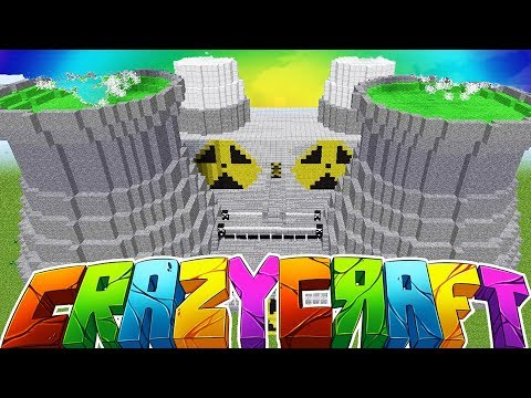 NEW SEASON GIANT NUCLEAR REACTOR - MINECRAFT\'S OLDEST MOD PACK CRAZY CRAFT SURVIVAL Season 2 #1