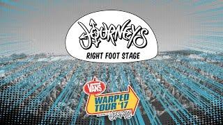 Journeys Right Foot Stage :: Vans Warped Tour 2017