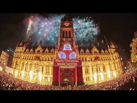 Manchester Christmas Lights Switch-On 2016 - YouTube