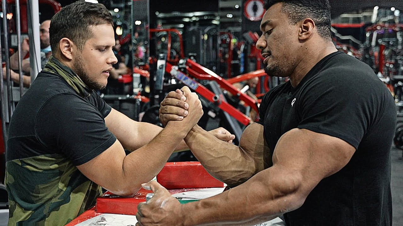 KING OF THE TABLE WITH LARRY WHEELS | ARM WRESTLING 2021