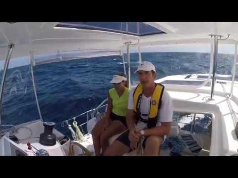 Episode 30 Ships don't lie....  Aruba to Colombia Leopard 48