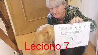 Lernu Esperanton kun Superhundo! – Leciono 7