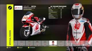 Valentino Rossi The Game - MotoGP 16 - All Bikes & Riders  | All Motorcycles - List (HD) [1080p]