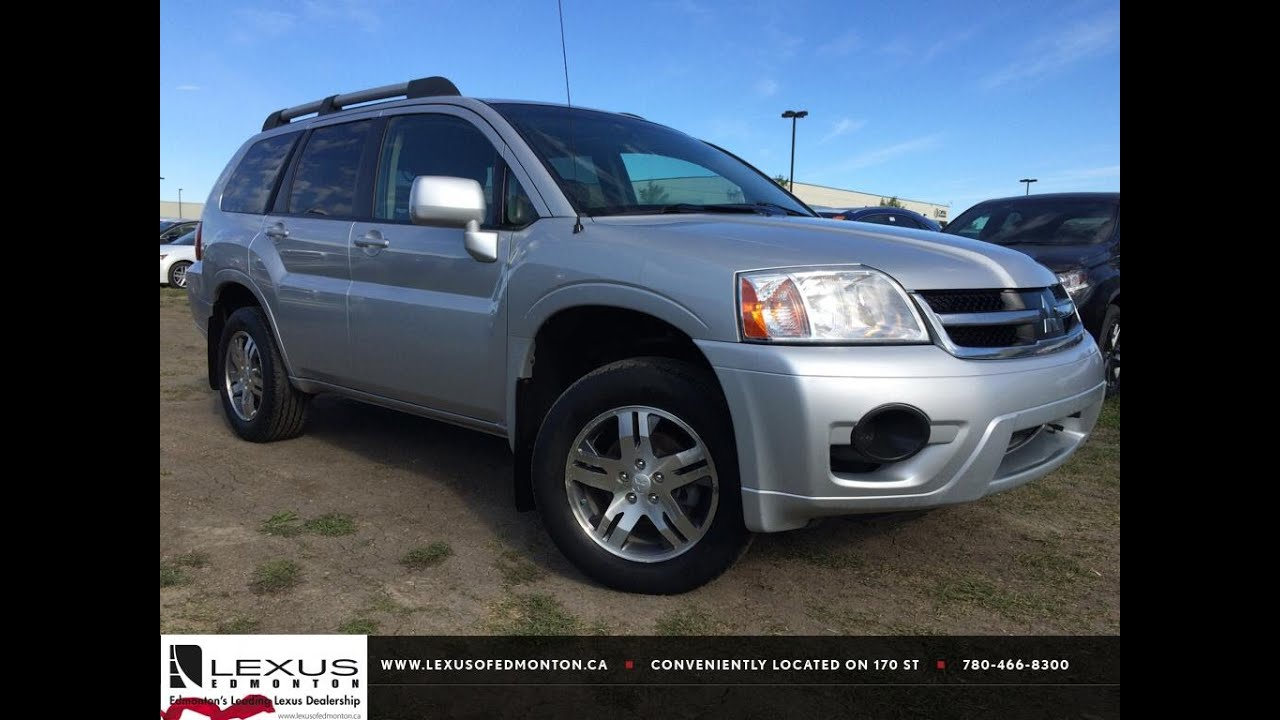 Pre Owned Lexus >> Pre Owned Silver 2008 Mitsubishi Endeavor AWD SE In Depth Review | Red Deer Alberta - YouTube