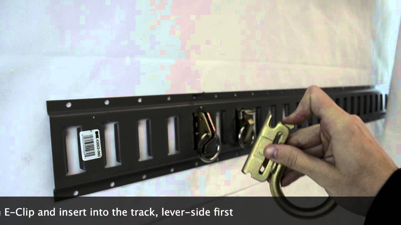 How To Use An E Track System Youtube