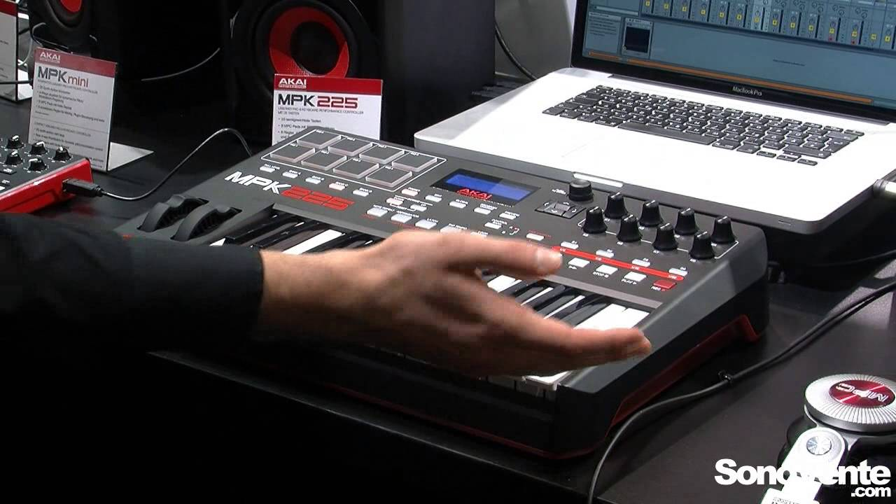 AKAI MPK225 DRIVERS WINDOWS XP
