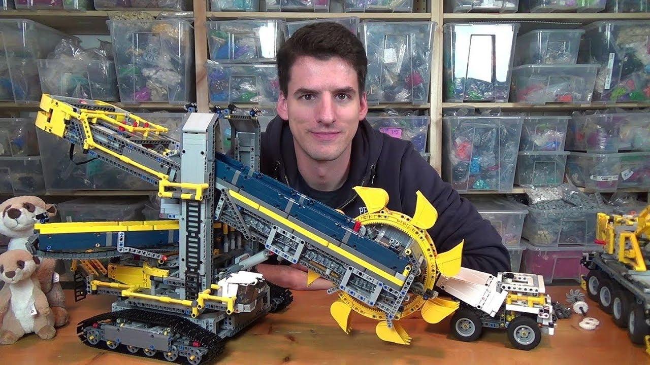 Lego Technic 42055 Schaufelradbagger Youtube