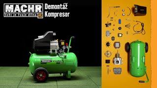 Demontáž: Kompresor