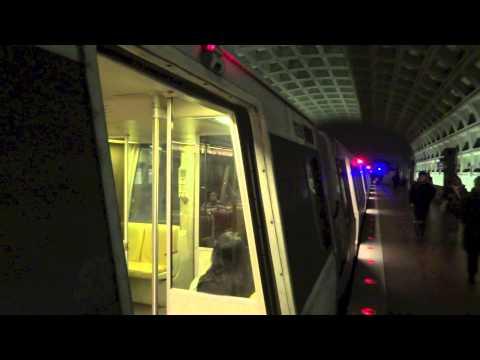 WMATA: Blue and Yellow Line Action on the Metro - Washington DC