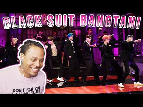 Reacting To BTS: Boy with Luv (Live) - SNL