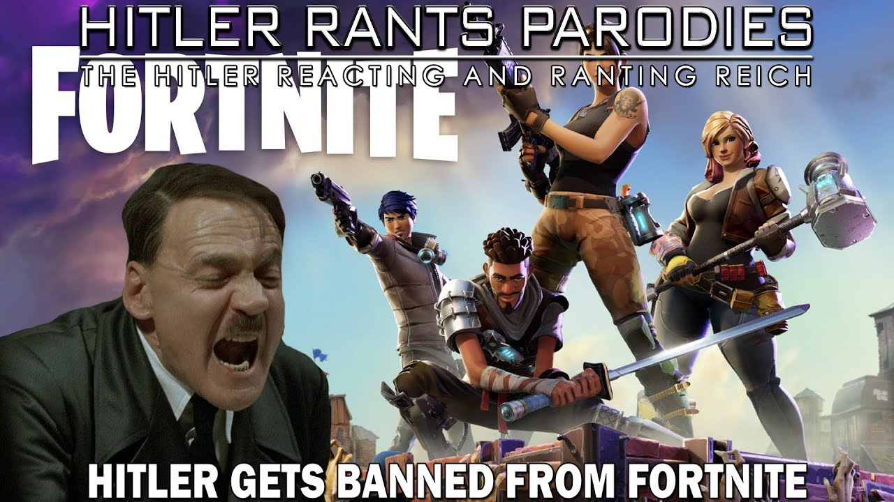 Hitler gets banned from Fortnite