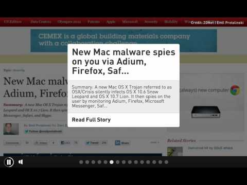 CIC News 30-07-2012: espionage, malware, Twitter